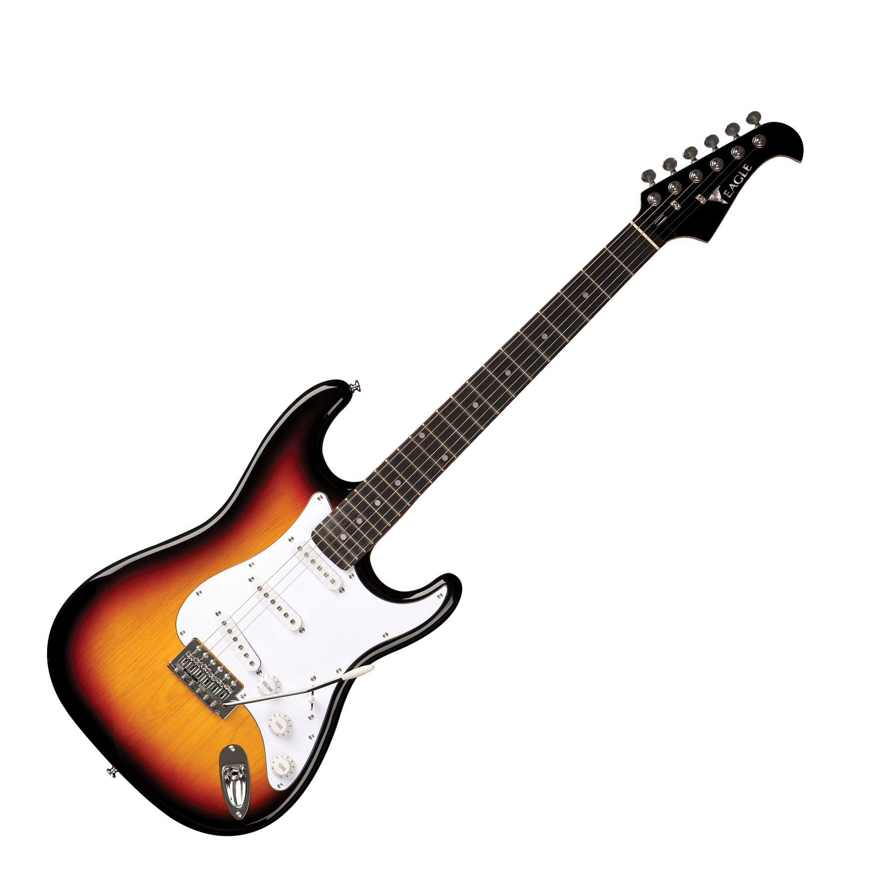 Guitarra Eagle Sts001 3s Strato Sumburst