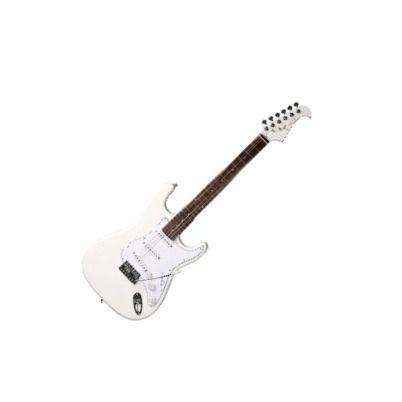 Guitarra Eagle Sts002 2s 1h Strato Branca