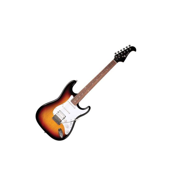 Guitarra Eagle Sts002 2s 1h Strato Sumburst