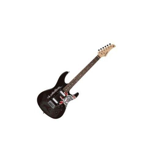 Guitarra Waldman GTU1COR 2h Strato Time Corinthians