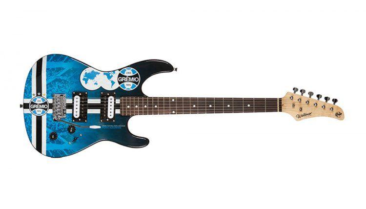 Guitarra Waldman GTU1GRE 2h Strato Time Gremio