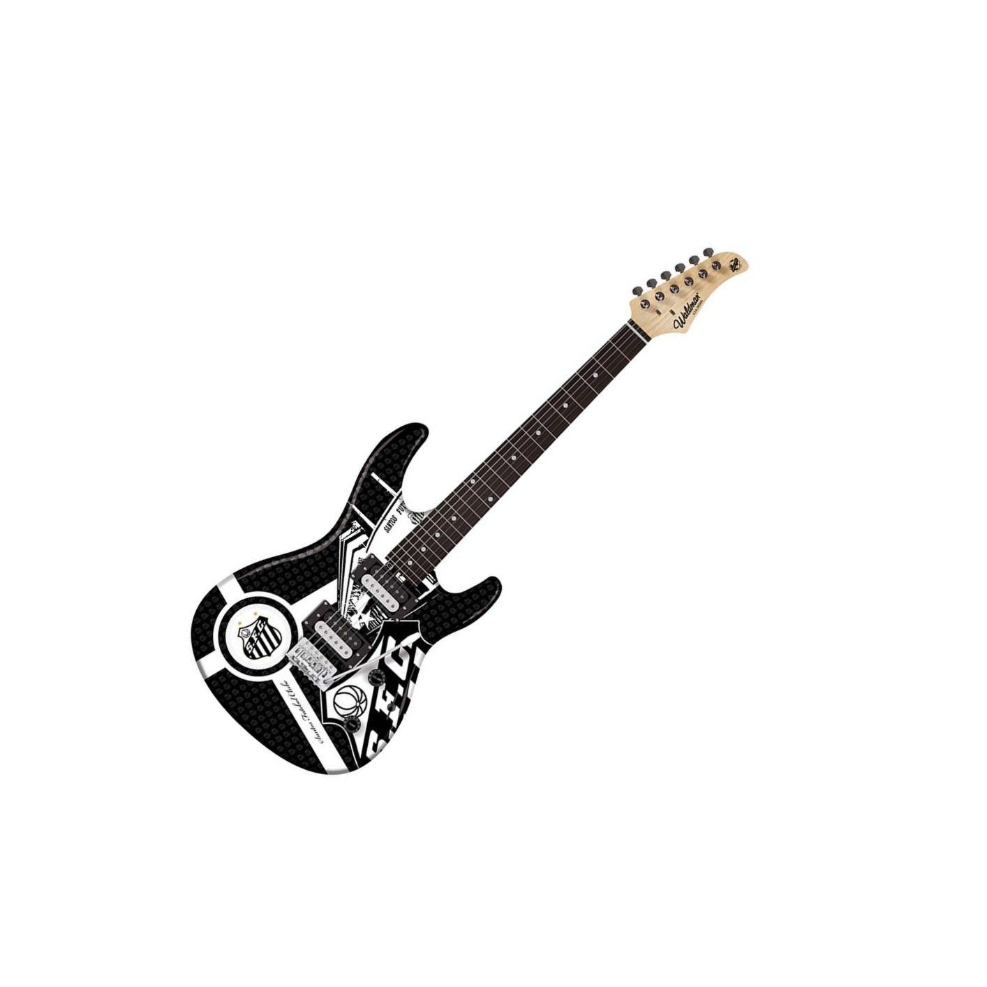 Guitarra Waldman GTU1SAN 2h Strato Time Santos