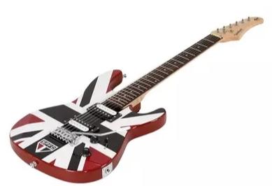Guitarra Waldman Gtu1spo 3s Strato Time São Paulo Oficial