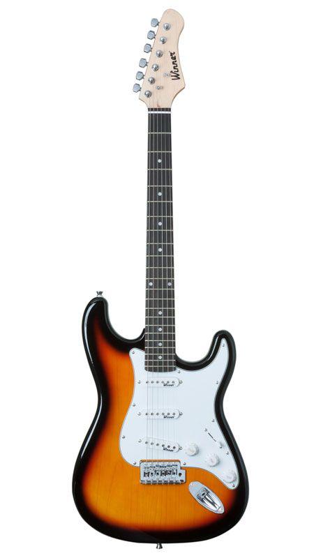 Guitarra Winner Wgs 7951 3s Strato Sumburst