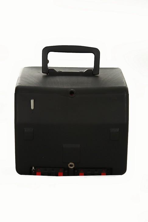 Kit caixa  propaganda supertech para carro/ amplificador  AS9 e cabo de força