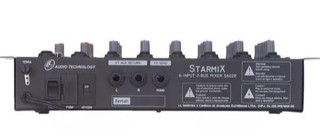 Mesa 6 Canais Ll Sa602r Starmix