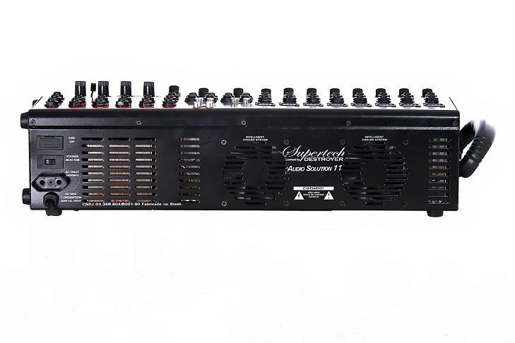 Mesa Amplificadora Supertech S11Audio Solution 11