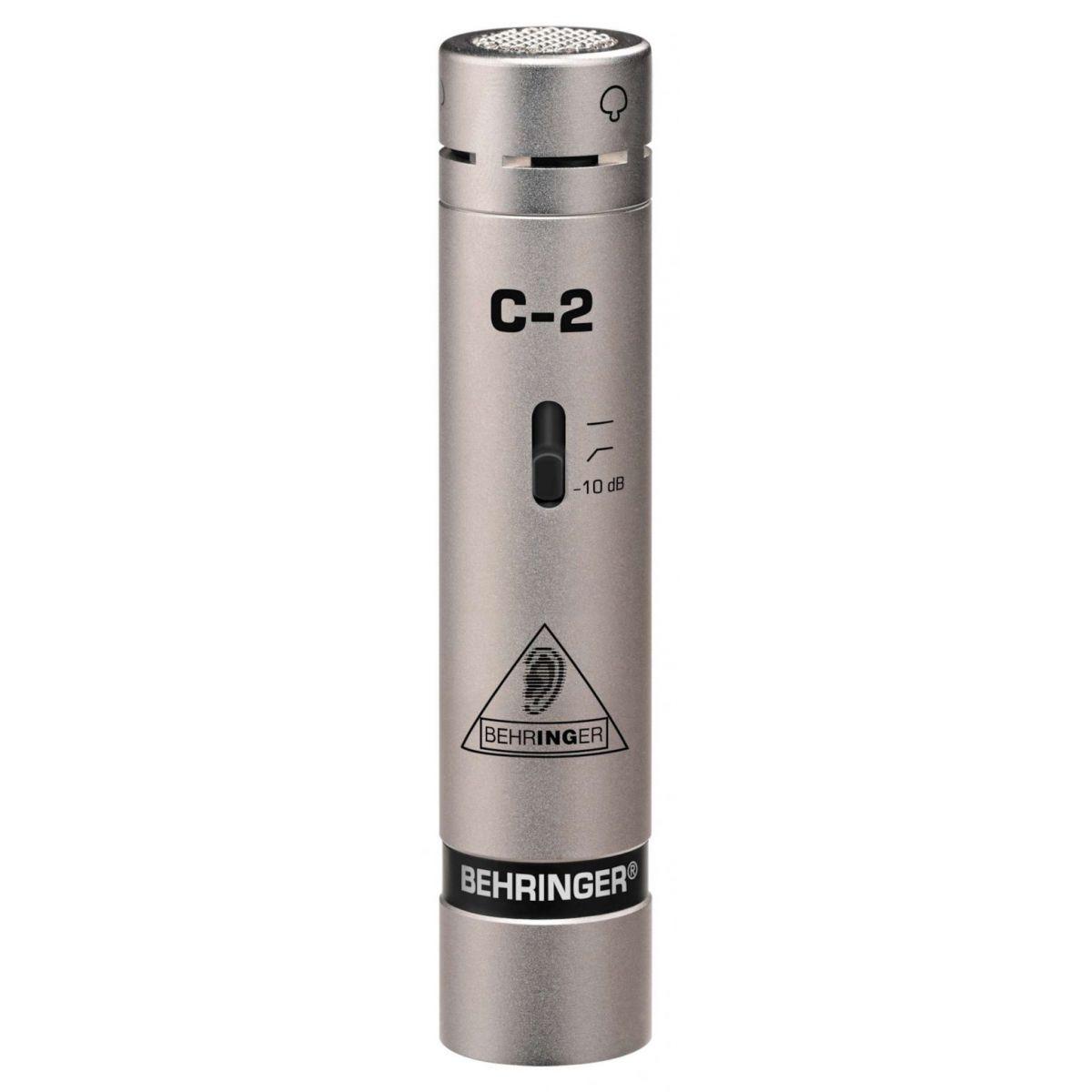 Microfone Behringer  C2 Par Condensador Cardióde Capsula de 16MM Frequência  40-20KHZ