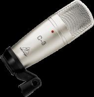 Microfone Behringer  C3 Condesador Cardióde, Omniderecional 2 Capsula de 16MM,Frequência 40-18KHZ