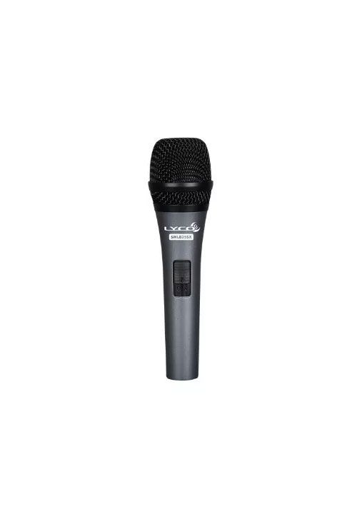 Microfone Lyco Sml835x C/Caximbo C/Cabo Canon Xlrf Xlrm