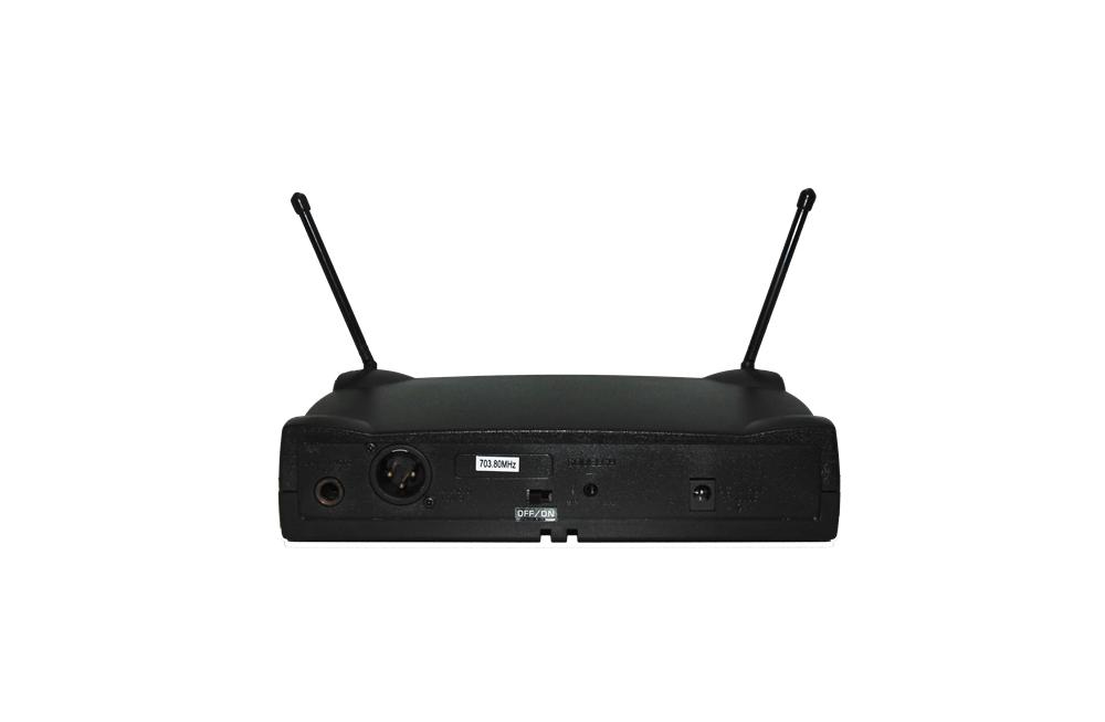 Microfone Lyco UH01HLI UHF 1 Frequência S/Fio Headset Cabeça Lapela Transmissor ,