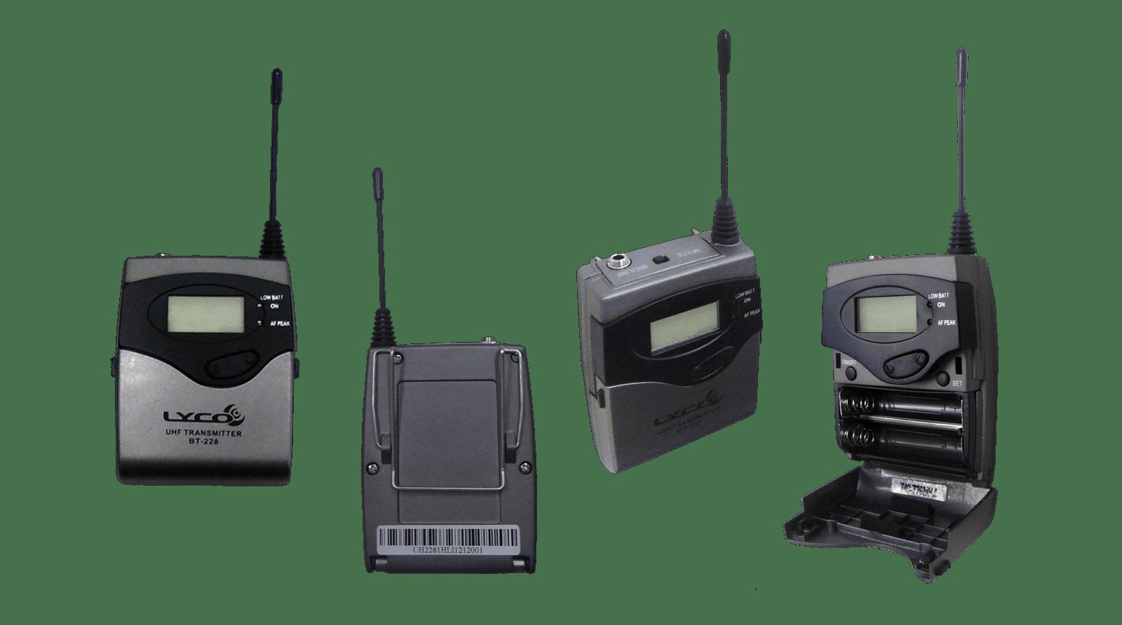 Microfone Lyco Uh228.1h Uhf 1441 Freq.digi.s/fio Cabeça 2 A