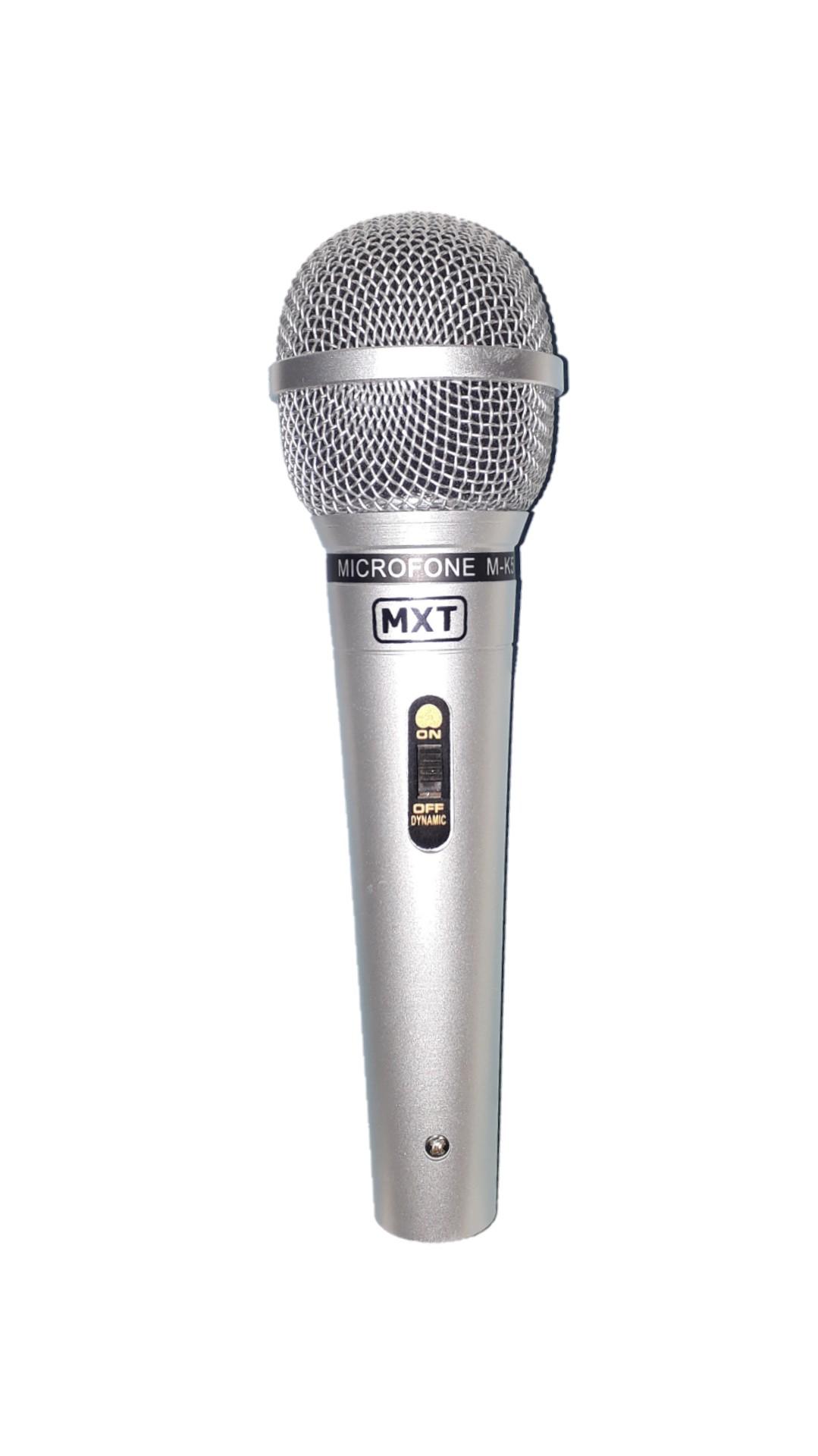 MICROFONE MXT MK5 541106 C/CABO PRATA