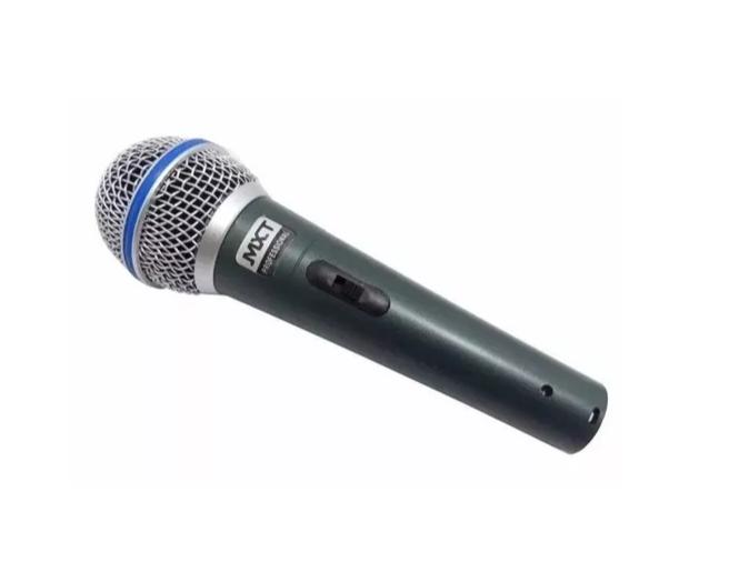 Microfone Mxt Pro BTM57A C/1PÇ 541115 C/Cabo