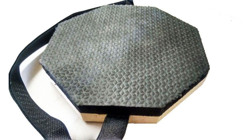 Pad De Estudo Praticável De Bateria E Percussão 5.5pol C/ALÇA Regulável em Velcro