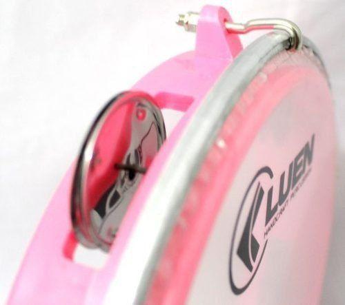 Pandeiro 8 Luen 40084RS ABS Junior Pele Cristal Rosa