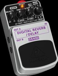 Pedal Behringer  DR400 Digital Delay Reverb