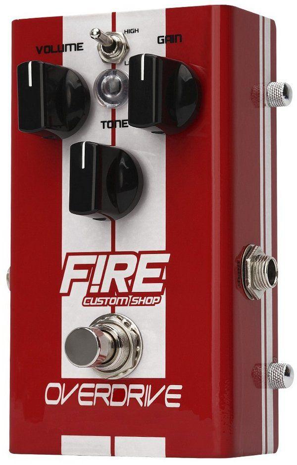 Pedal Fire Overdrive Guitarra