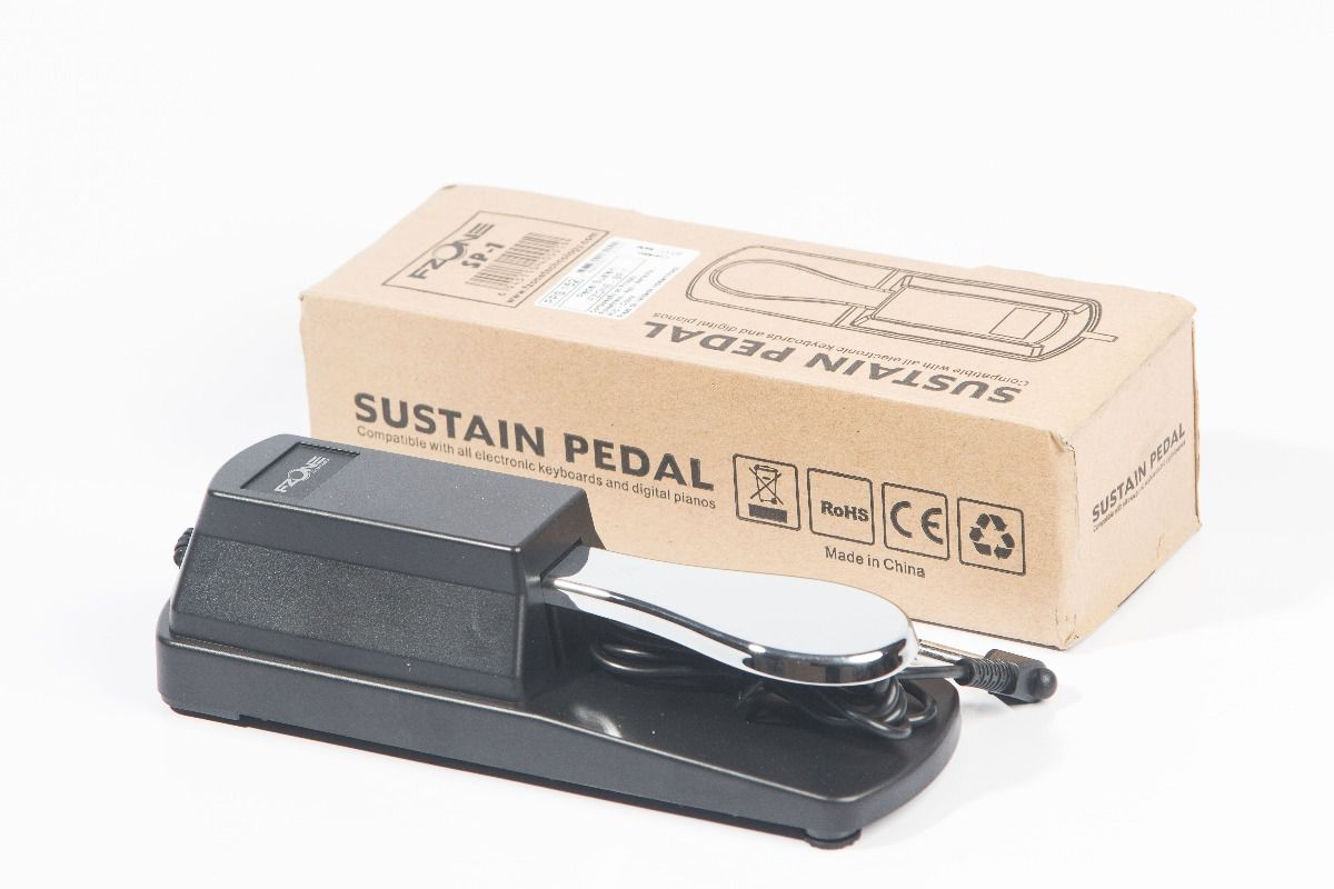 Pedal Sustain Paganini PPS152 New C/Chave Polaridade