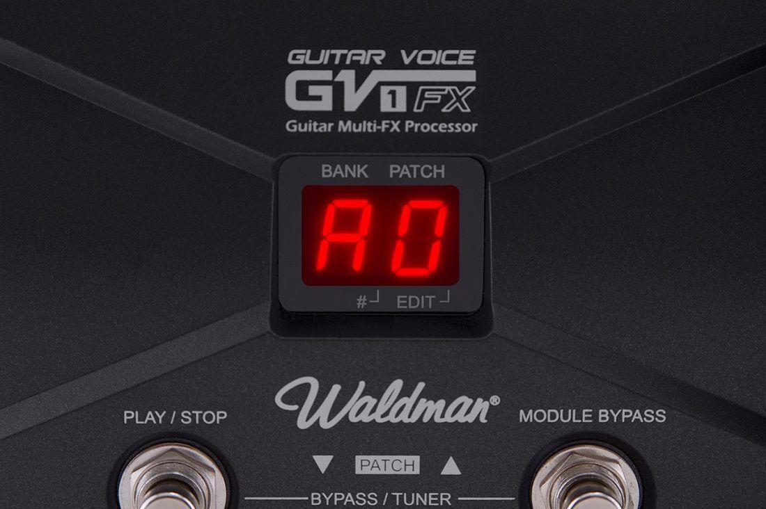 Pedaleira Waldman Gv-1fx Guitar Voice Para Guitarra Saldo2