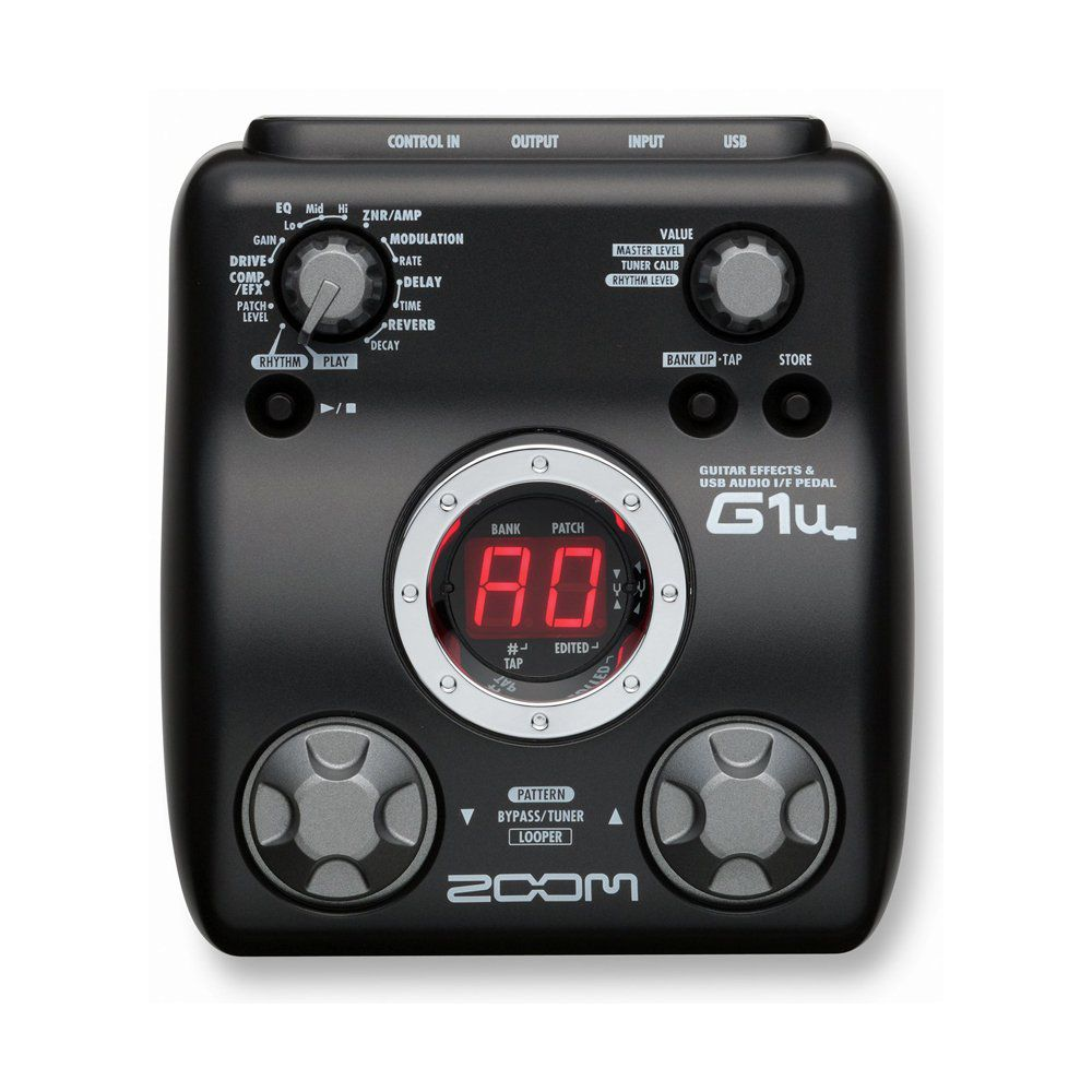 Pedaleira Zoom G1U USB S/Fonte