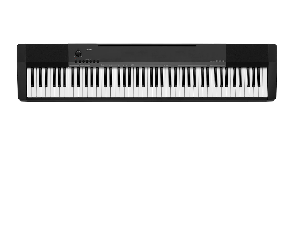 Piano Digital Casio CDP135BK 7/8 88 Teclas Preto