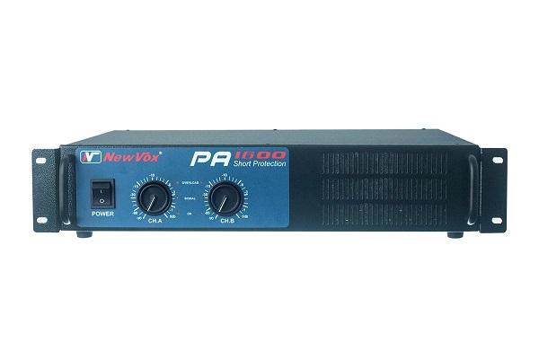 Potencia Newvox PA1600 Toroidal 800WRMS