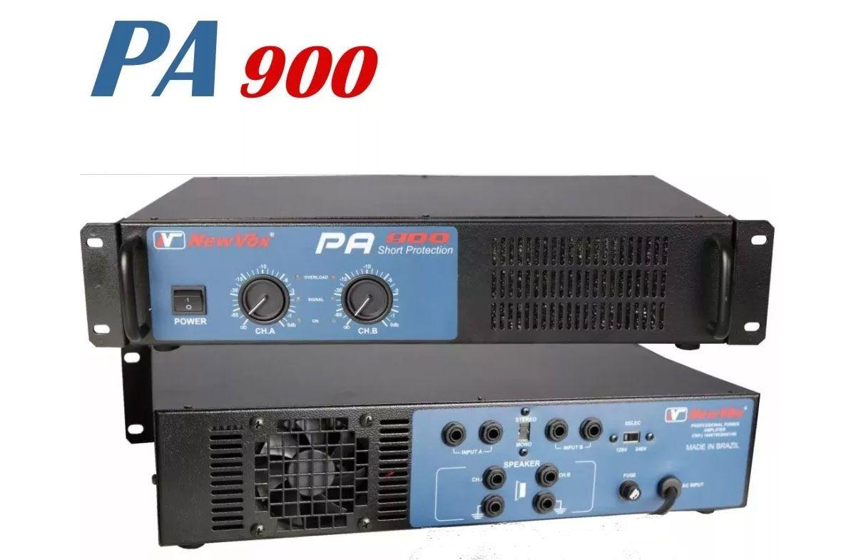 Potencia Newvox PA900 Toroidal 450WRMS