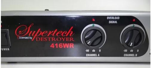 Potencia Supertech 416wr 416wrms