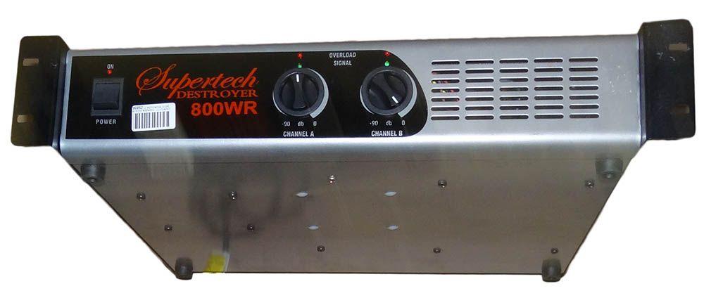 Potência Supertech Destroyer  800WR
