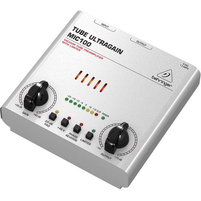 Pré Amplificador Behringer  MIC100  Ultra Gain Pró