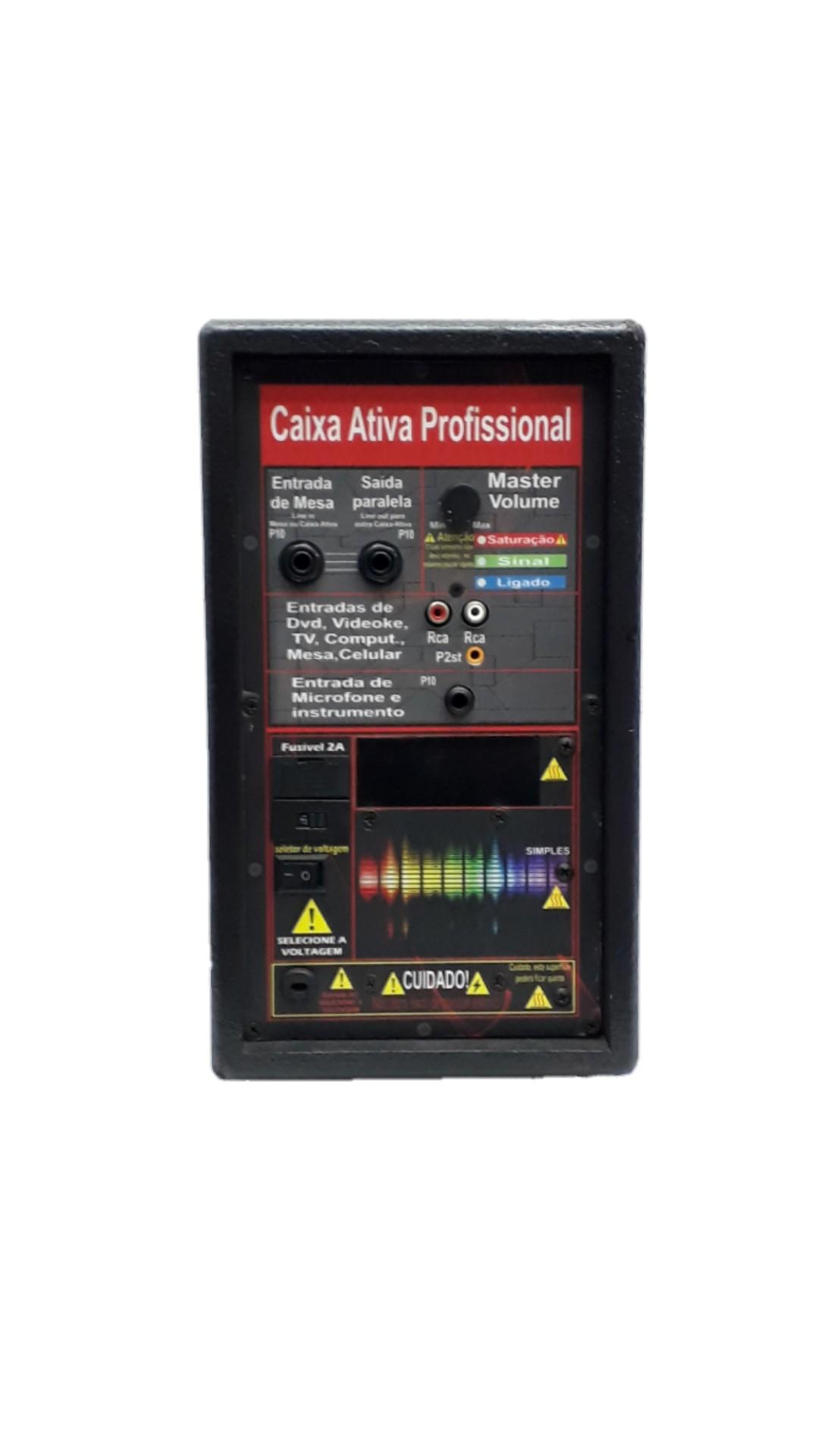 Amplificador Supertech S385 1Can.N36.Rever.385WREF