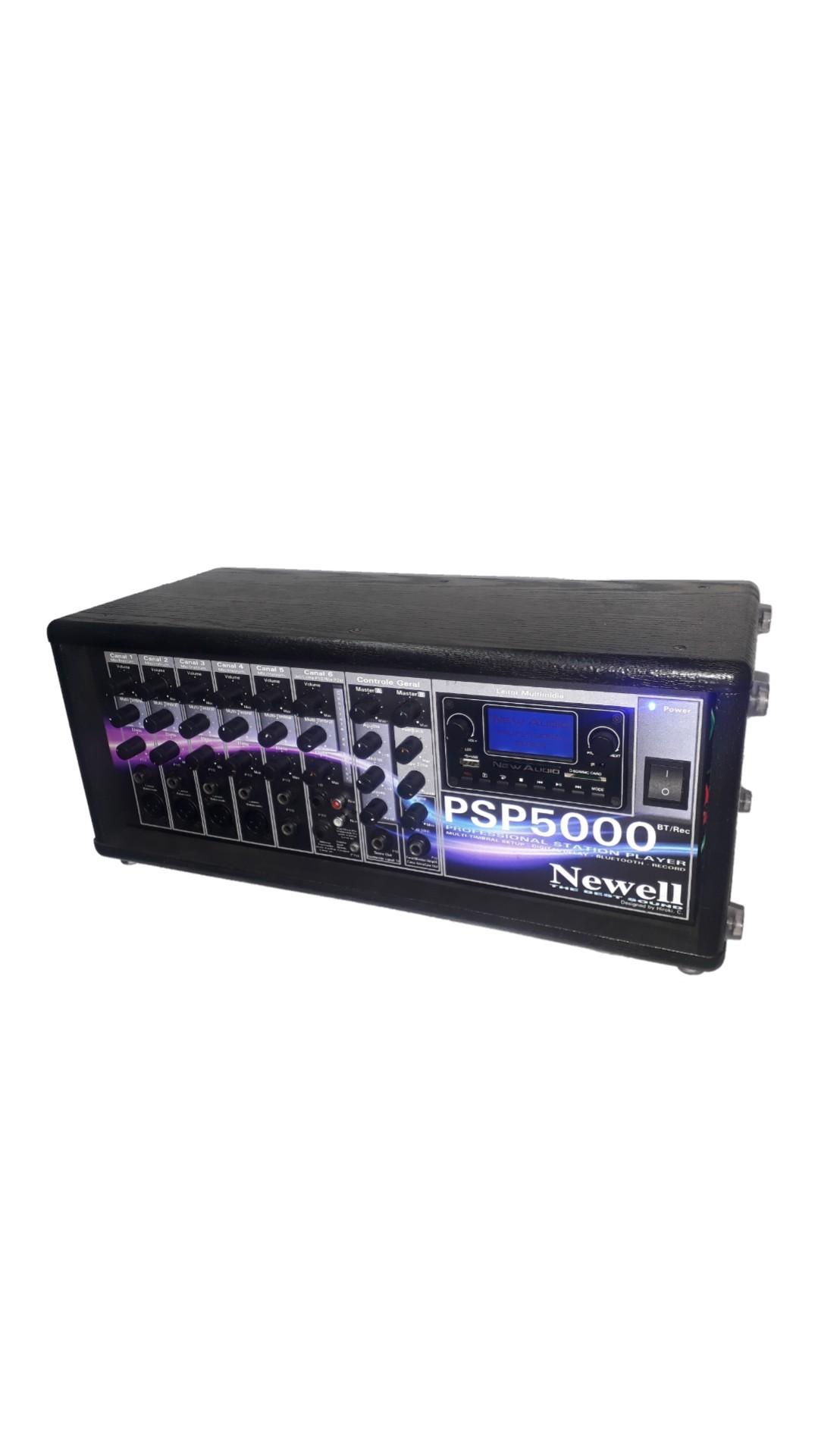 Amplicador Supertech S779WR 16 entradas 6 canais Bluetooth/Usb