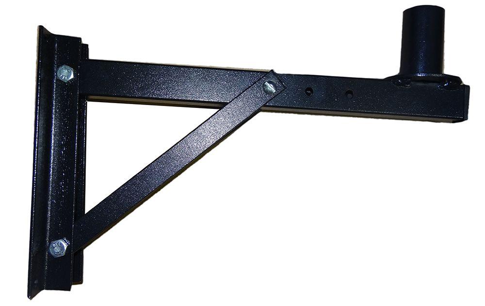 Suporte Supertech Scp Parede Para Caixa Com 3 Regulagem Pequeno Preto