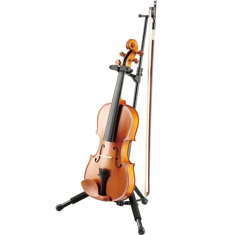 Suporte Stagg SVVN Viola/Violino C/Braço P/Arco Preta