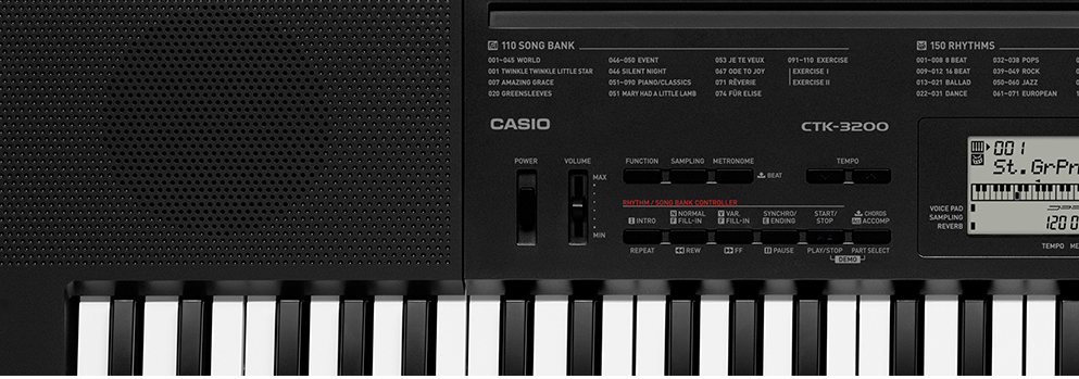 Teclado Casio Ctk3200 5/8 C/Fonte