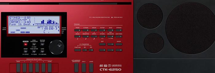 Teclado Casio Ctk6250 5/8 C/Fonte
