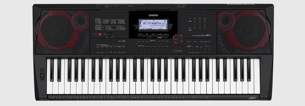 Teclado Casio CTX3000 5/8 61Teclas Sensitivas Usb C/Fonte T IMPORT