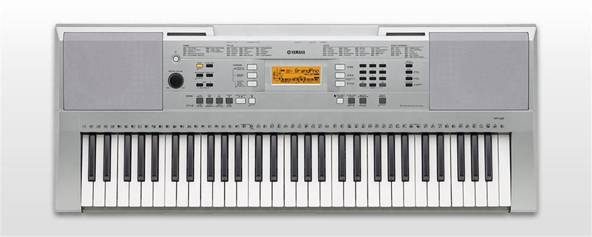 Teclado Yamaha Ypt340 5/8 C/Fonte
