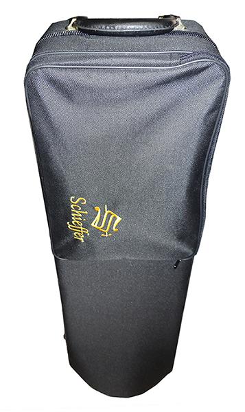 Trombone de Vara Schieffer Com Afinação em Bb Corpo Laqueado e Estojo Super Luxo - SCHTB-005