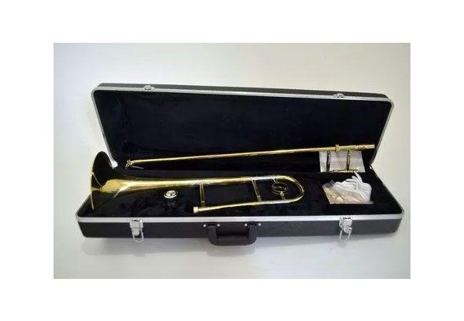 Trombone Vara Goldman GTB71L Sib Laqueado