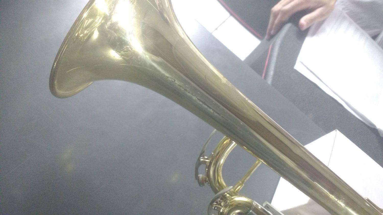 Trompete Eagle Tr509 Sib. Laqueado Cano De Embocadura Em Cob