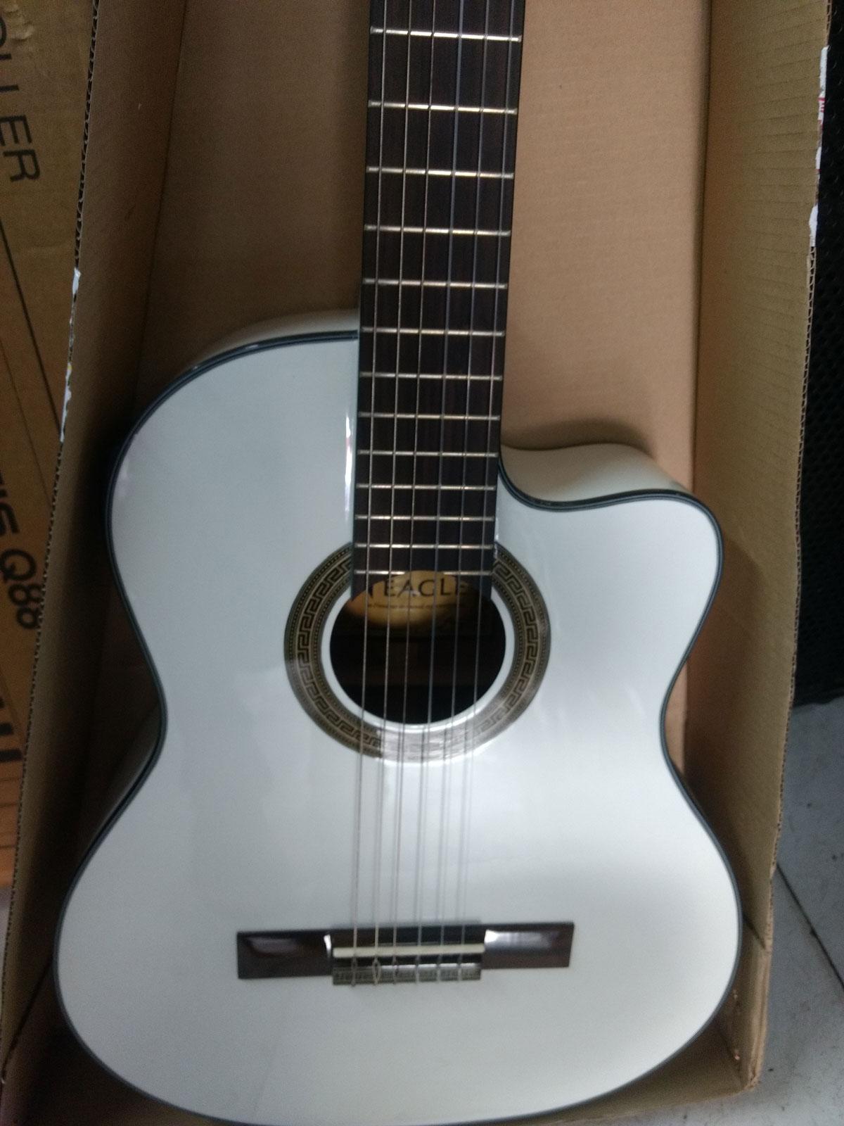 Violao Eagle Ch800 Ny Classico Eletrico 6 C.cut.afin. Saldo