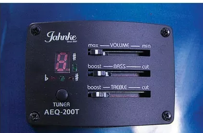 Violao Jahnke Jved014 Bls Aço Semifolk Elet.6 Control Cut.a