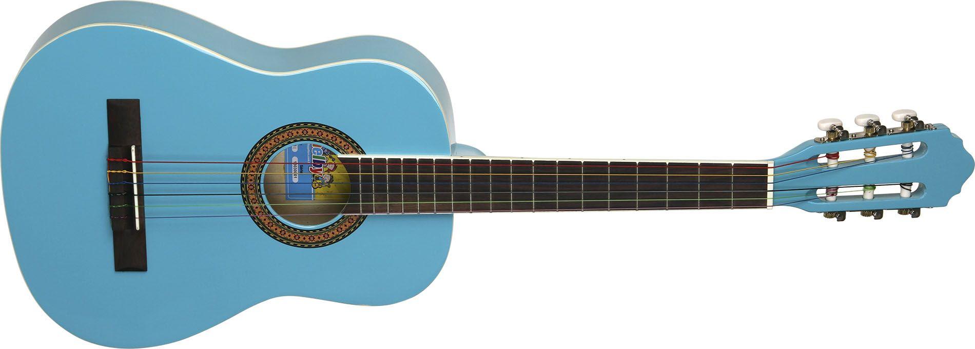 Violão Shelby Snk66 34 Nylon Clássico Acústico Infantil C/Capa Azul