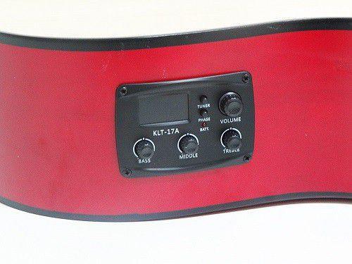 Violão Tonante TGE300NST Aço Clássico Elétrico Cutaway Natural