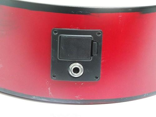Violão Tonante TGE300NST Aço Classico Eletrico Cutaway Natural