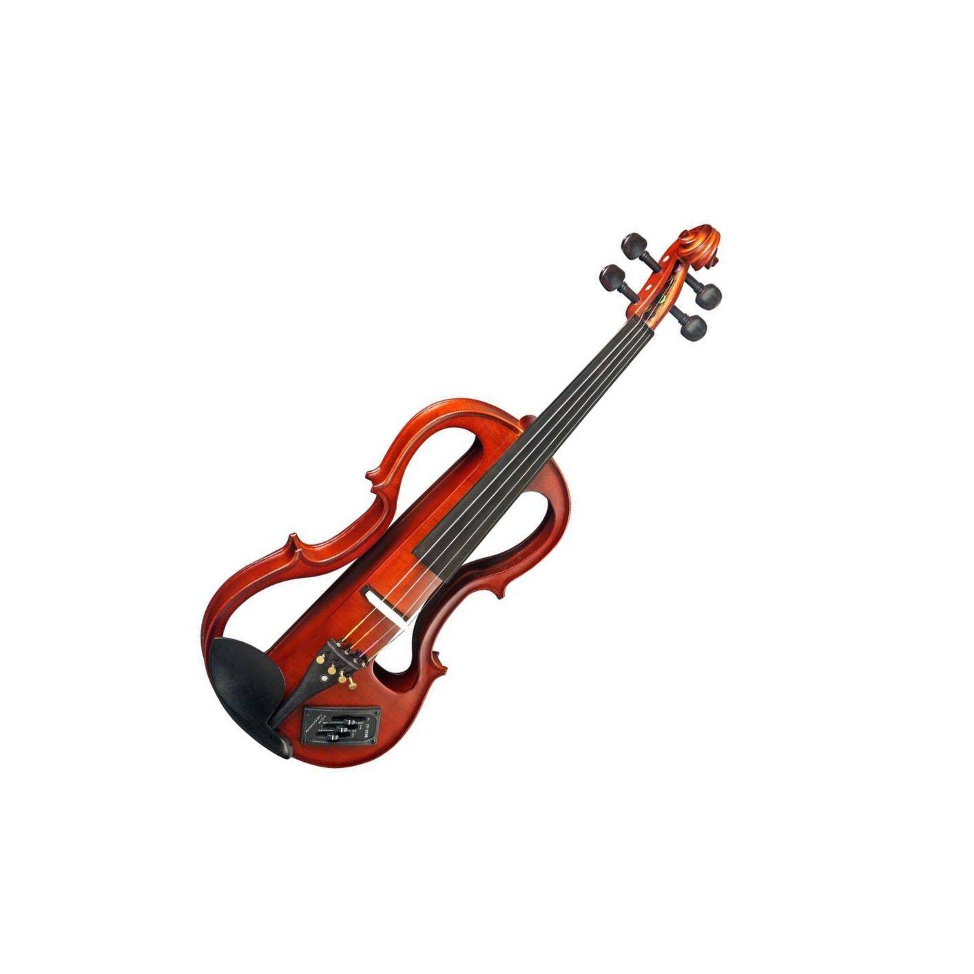 Violino Eagle Evk744/Ev650 Vazado Elétrico  3control.