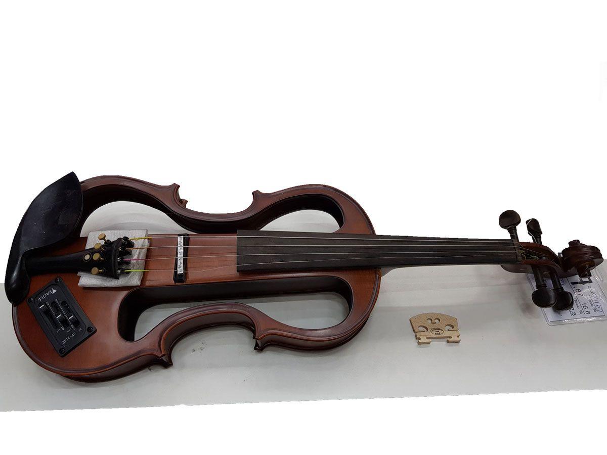 Violino Eagle Evk744/ev650 Vazado Elétrico 3controles Saldo