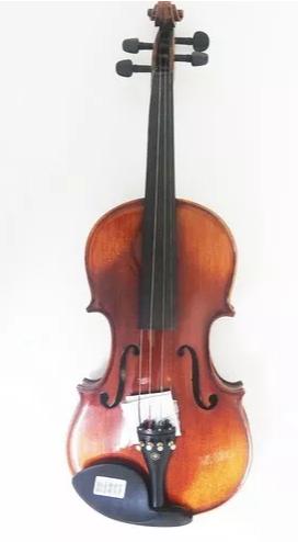 Violino Eagle Vk544 4/4 Rajado Profissional Com Higrometro C